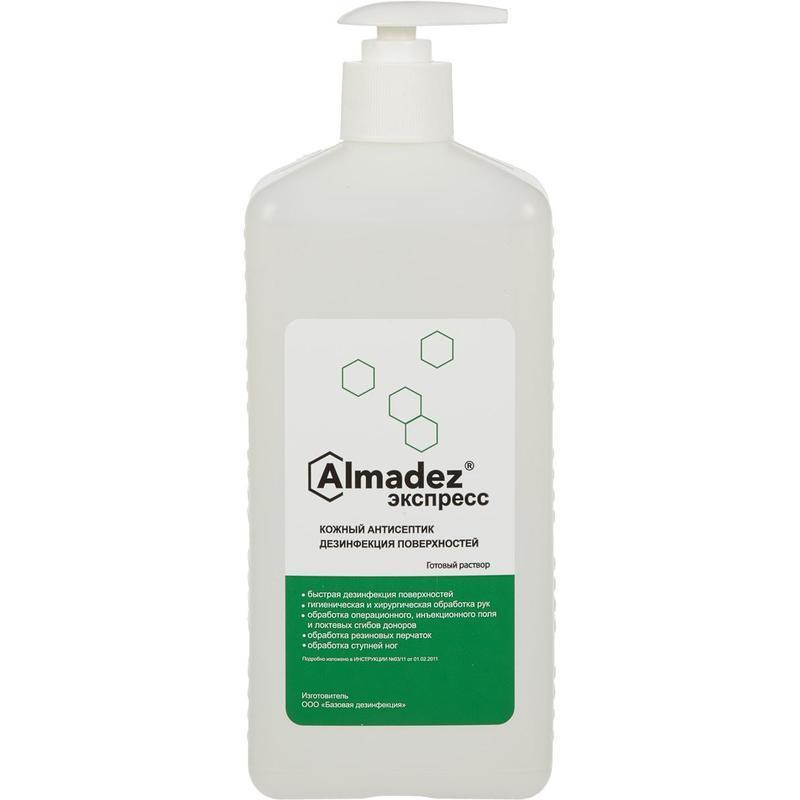 Антисептик кожный Алмадез-Экспресс 1,0 л (с дозатором)