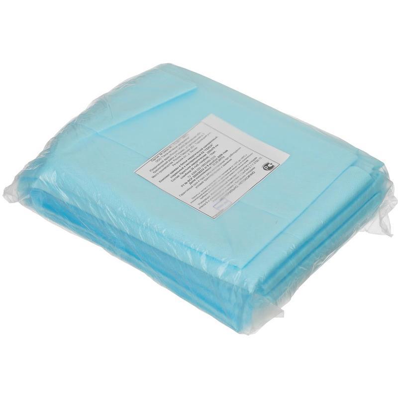 Простынь стерил. 140x70см спанбонд пл.25 (Гекса) (ТК-150шт)