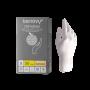 Перчатки латексные смотровые н/с н/о текст. BENOVY, M 50 пар/упак