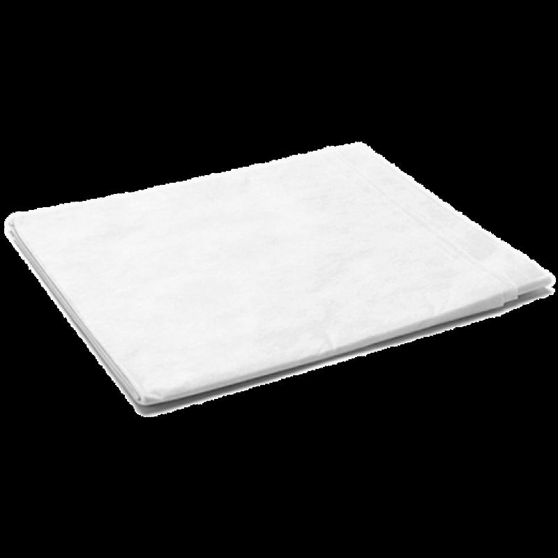 Простынь гигиен, 200*80, смс Комфорт,белый 20шт/уп, (Чистовье)