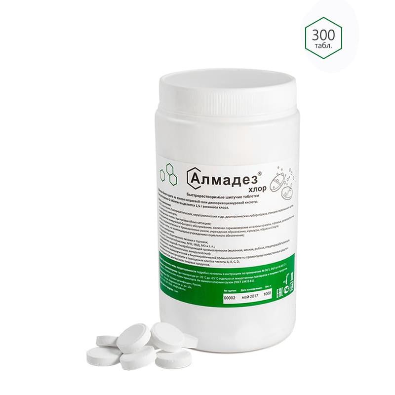 Алмадез-Хлор (300 таблеток в банке)