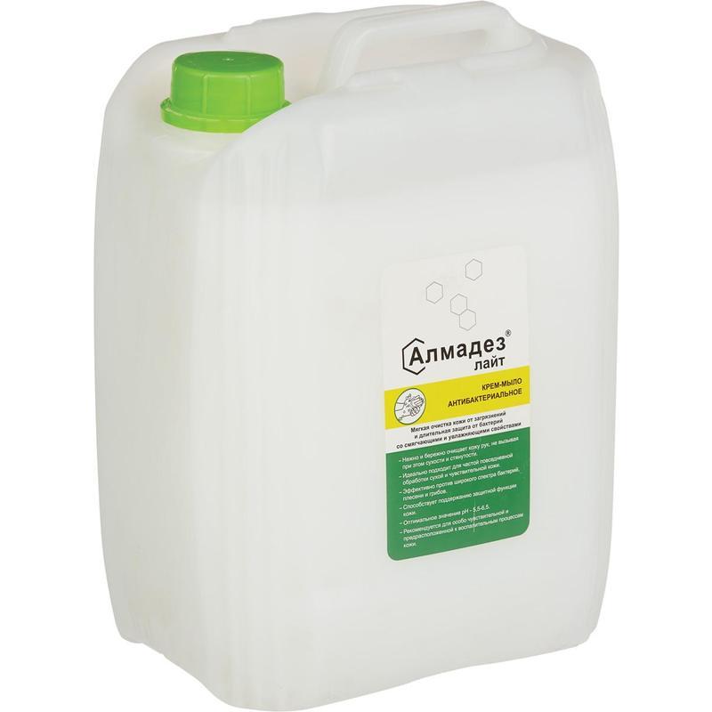 Дезинфицирующее мыло Алмадез-Лайт антибактериальное 5,0 л