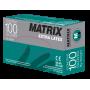 Перчатки  медицинские  диагностические  латексные MATRIX  Extra Latex (100пар) X