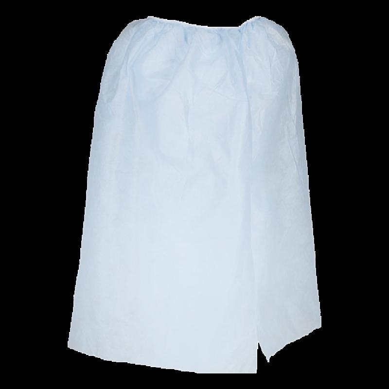 Парео на резинке голубой спандбонд 30 г/кв.м 150*80