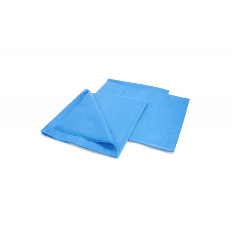 Простыня хирургическая (200*80см снабонд пл.25 г/м2, голубой) Нестерильно,